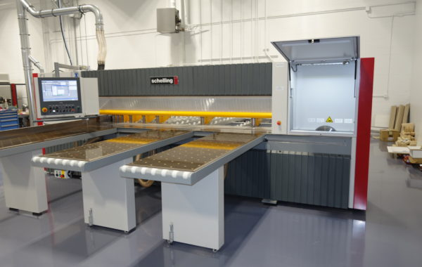 Schelling fh5 and fh6 Wood Panel Saws, Showroom