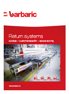 Barbaric RTS Professional Return System for Material Handling
