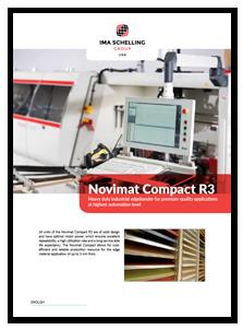 IMA Novimat Compact R3 Edgebander