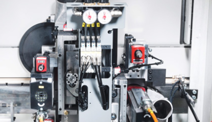 IMA Novimat Compact L12 Edgebander Flush Milling Unit